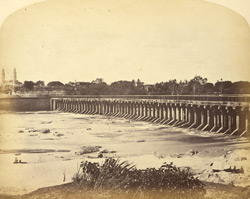 The Wellesley Bridge over the Cauvery at Shrirangapattana [Seringapatam].